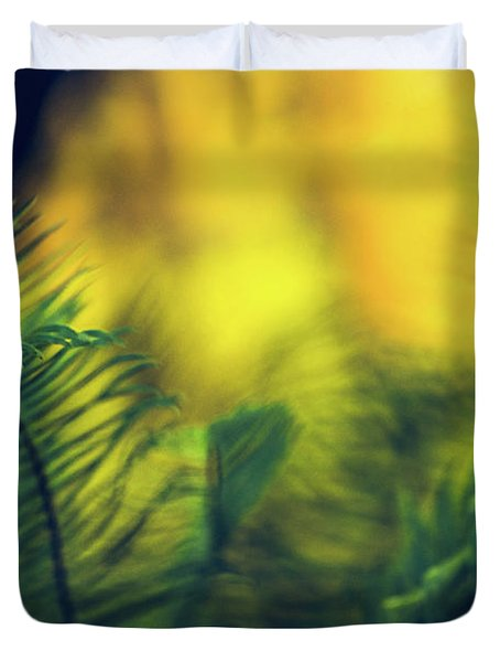In-fern-o Duvet Cover