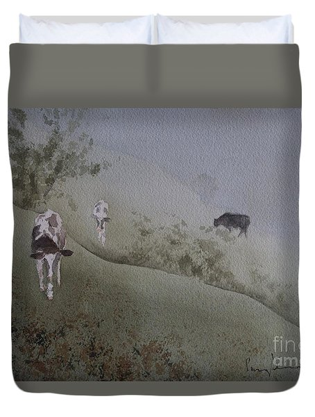 In From The Fog Duvet Cover