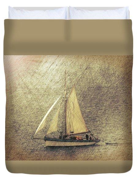 In Full Sail Duvet Cover