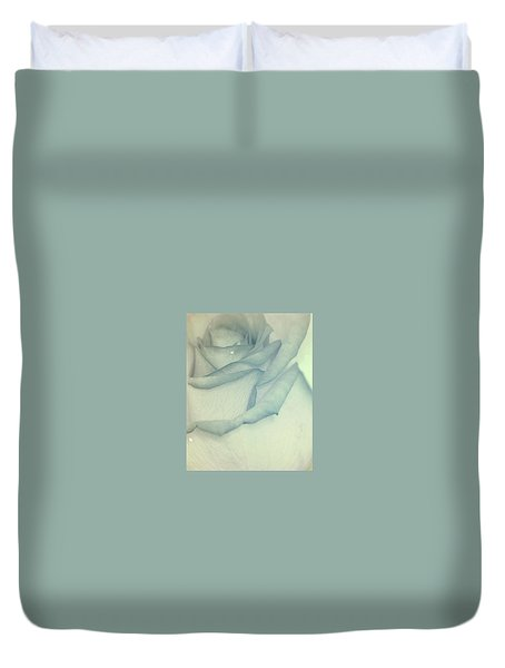 In Heavenly Cloud Duvet Cover by The Art Of Marilyn Ridoutt-Greene