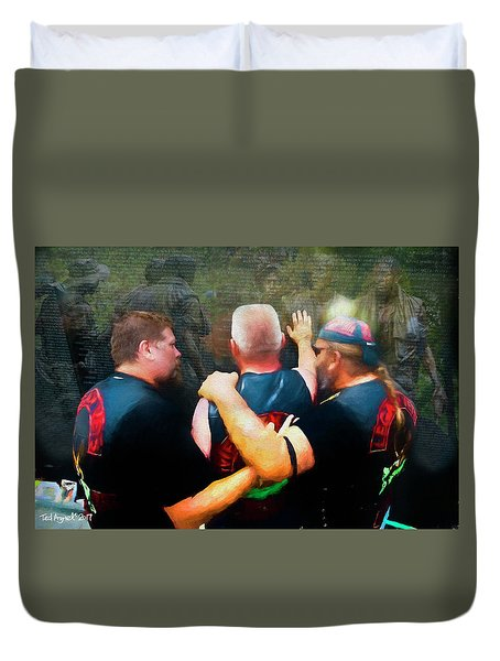 In Honour Of Those Who Serve Duvet Cover