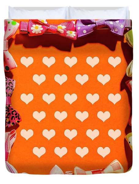 In Love Of Fashion Styling Duvet Cover