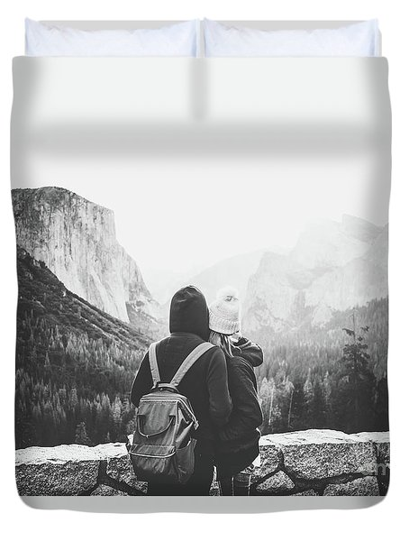 Yosemite Love Duvet Cover by JR Photography