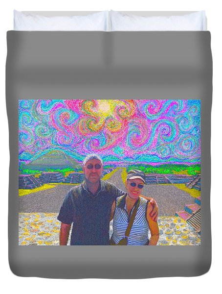 In Mexico Duvet Cover