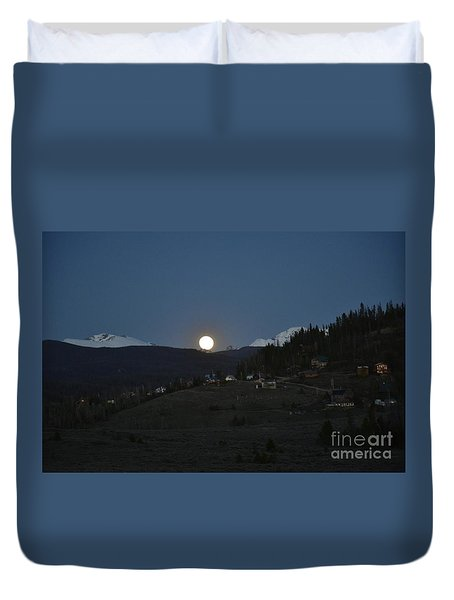 In Or Little Town Duvet Cover