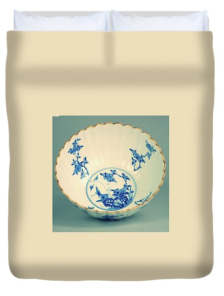 Extremely Nice And Rare Piece From The Kangxi Period Duvet Cover