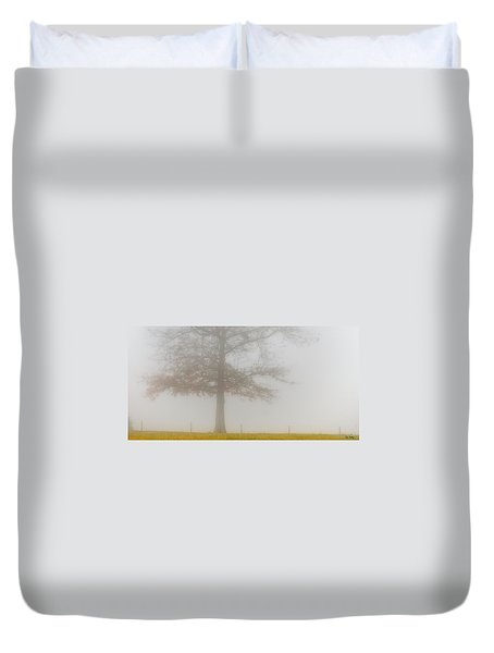 Duvet Cover featuring the photograph In Retrospect by Skip Tribby