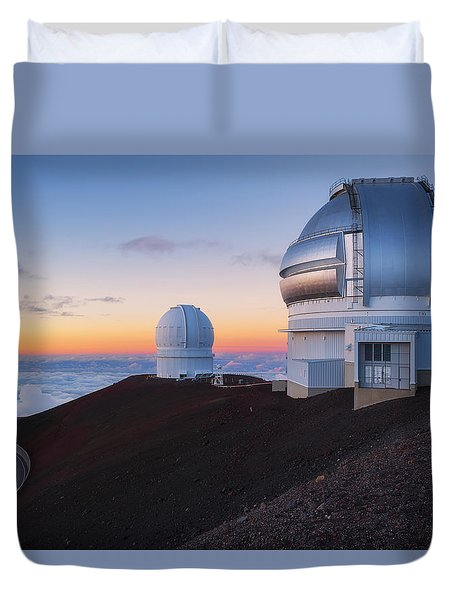 In Search Of Gemini Duvet Cover by Ryan Manuel