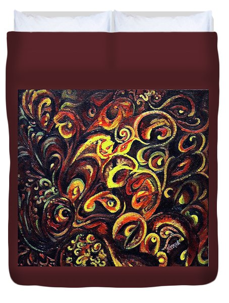 In Search Of  Ultimate Truth Duvet Cover
