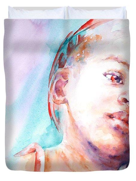 In Silence Duvet Cover by Stephie Butler