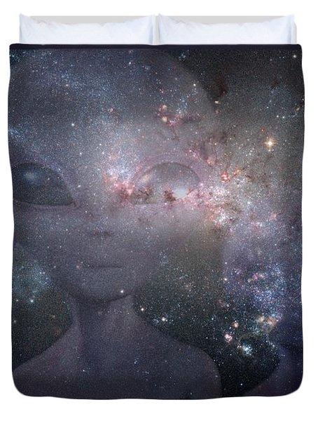 In Space Duvet Cover
