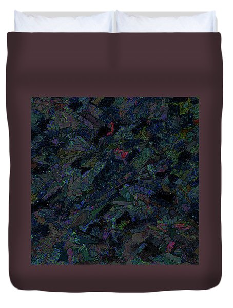 Duvet Cover featuring the photograph In The Abstract by Lewis Mann