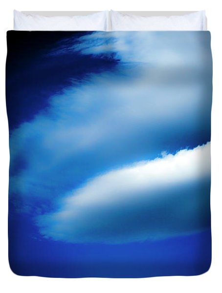 Duvet Cover featuring the photograph In The Air by Eric Christopher Jackson