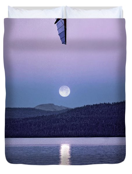 In The Air Tonight Duvet Cover
