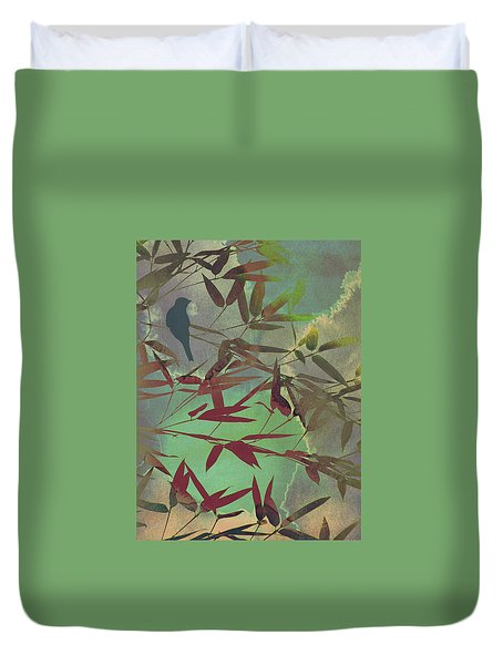 In The Bamboo Forest Duvet Cover by AugenWerk Susann Serfezi