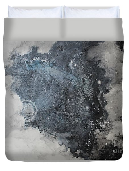In The Beginning Duvet Cover