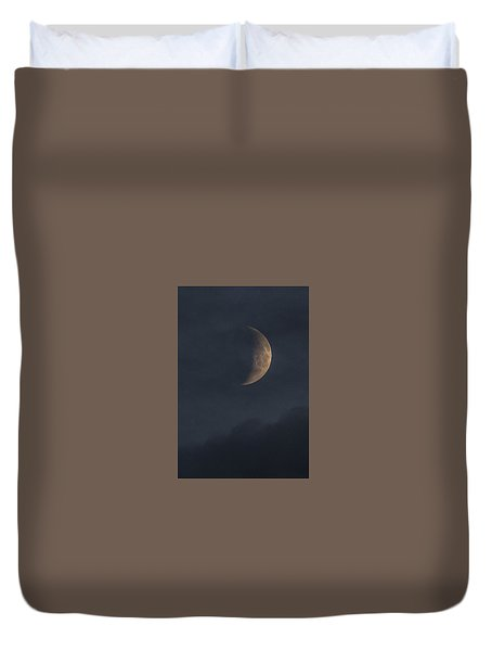 Duvet Cover featuring the photograph In The Blue Hours by Alex Lapidus