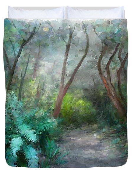 In The Bush Duvet Cover