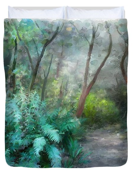 In The Bush Duvet Cover