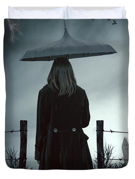 In The Dark Duvet Cover by Joana Kruse