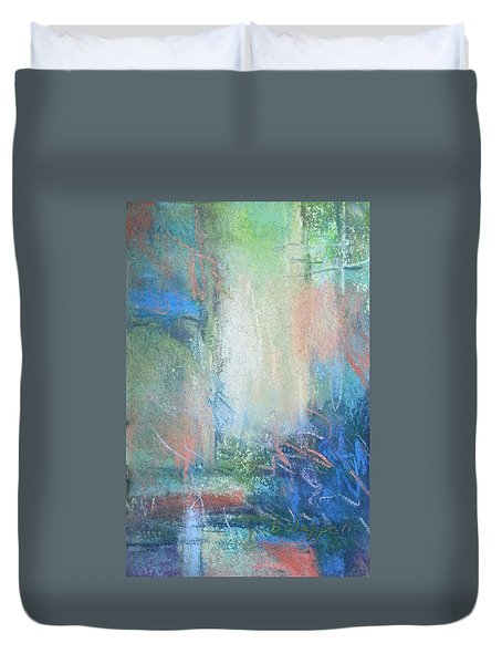 In The Depths Duvet Cover by Becky Chappell