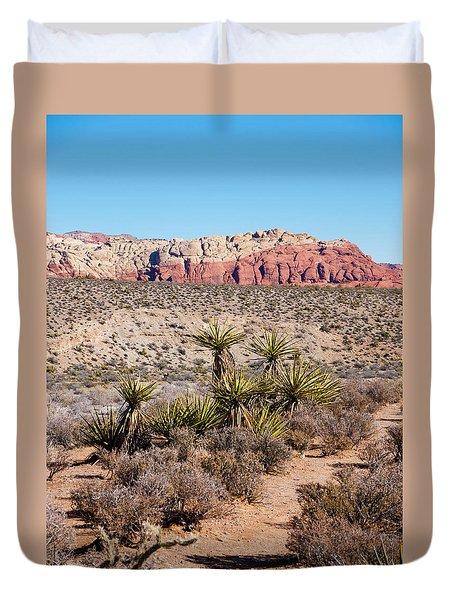 In The Desert Duvet Cover by Rae Tucker