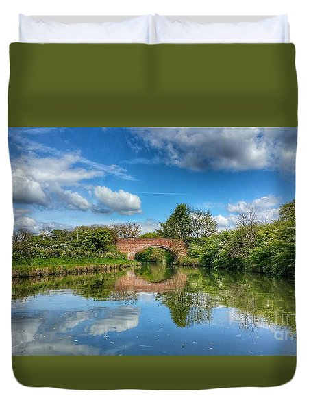 In The Dream Duvet Cover by Isabella F Abbie Shores FRSA