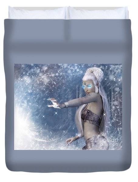 In The Eye Of The Storm Duvet Cover