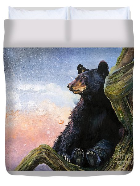 In The Eyes Of Innocence  Duvet Cover
