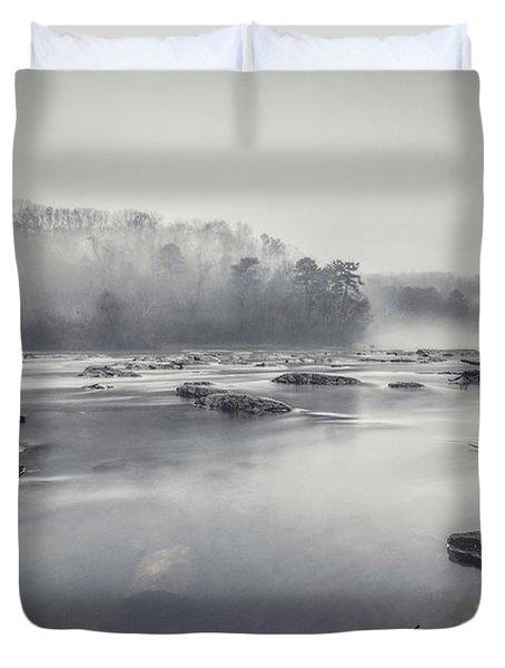 In The Fog  Duvet Cover