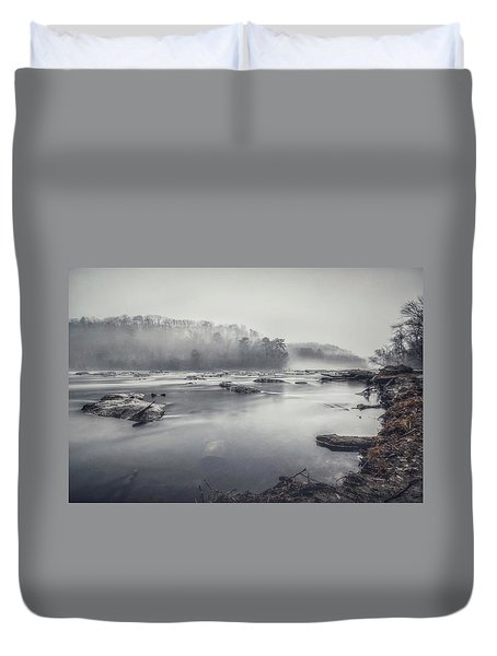 In The Fog  Duvet Cover