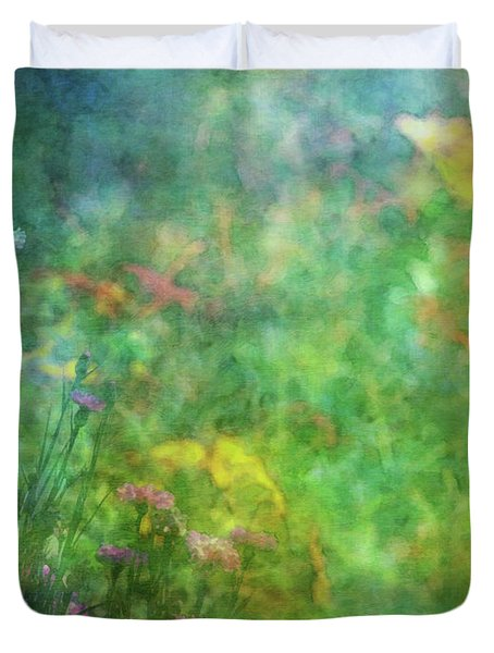In The Garden 2296 Idp_2 Duvet Cover