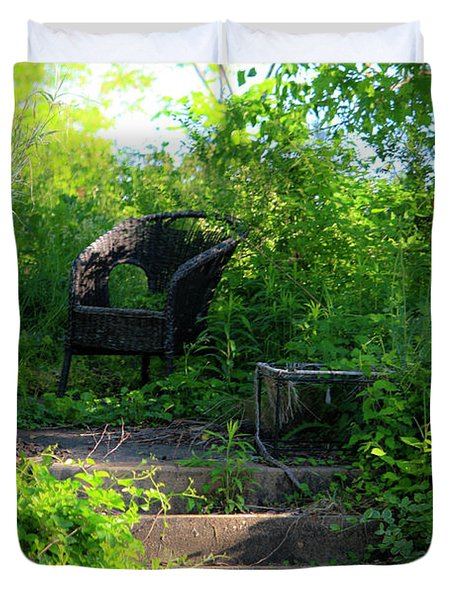In The Garden Duvet Cover by Teresa Mucha