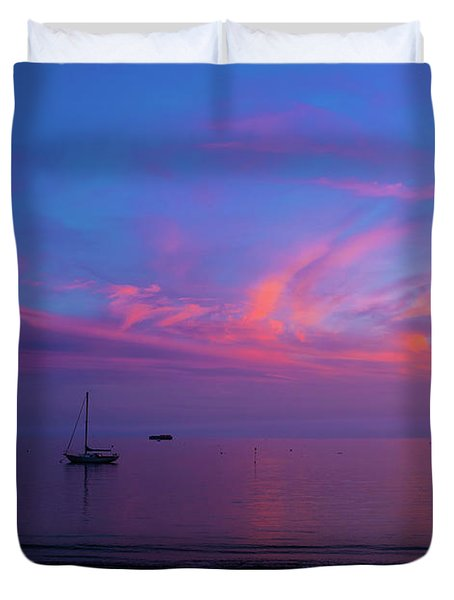 In The Gloaming Duvet Cover