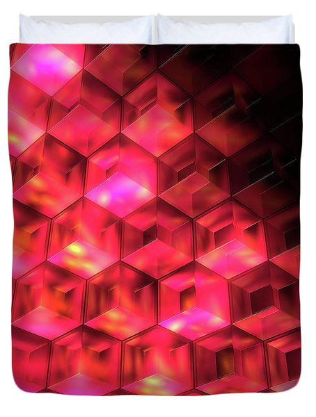 In The Halls Of Hades Duvet Cover