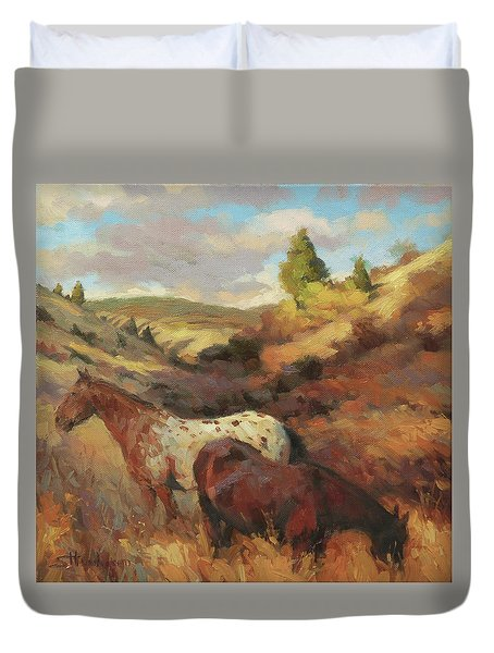 In The Hollow Duvet Cover