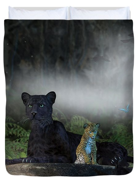 In The Jungle Duvet Cover