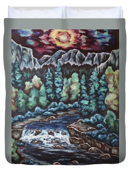 In The Land Of Dreams Duvet Cover