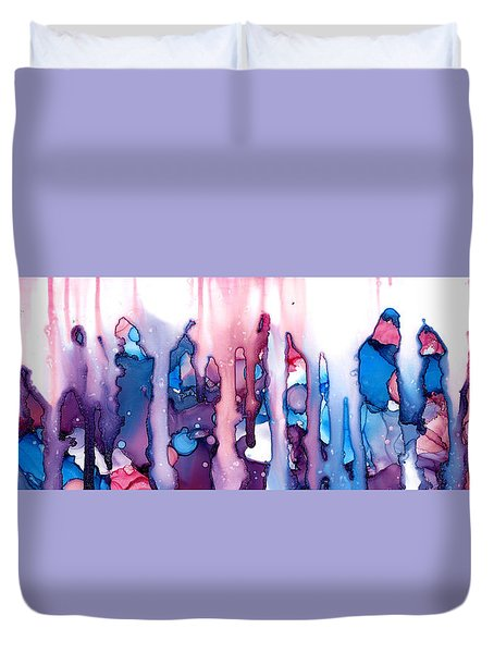 In The Land Of The Lost Elephants Duvet Cover