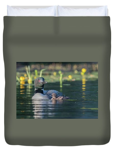 In The Lillies... Duvet Cover