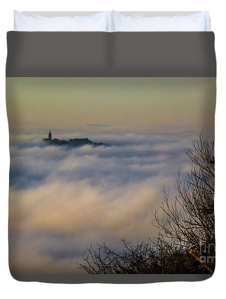 In The Mist 1 Duvet Cover