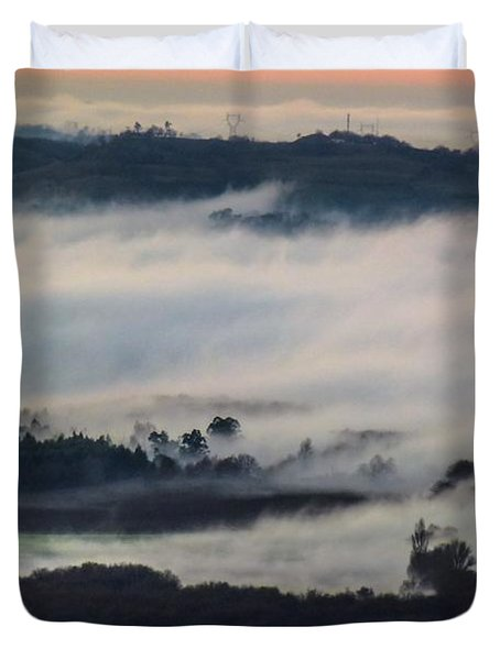 In The Mist 2 Duvet Cover
