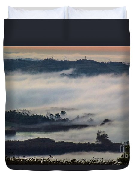 In The Mist 2 Duvet Cover