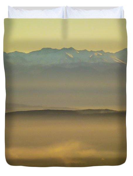 In The Mist 5 Duvet Cover