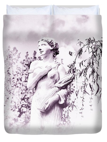 In The Mist Duvet Cover by Bill Cannon