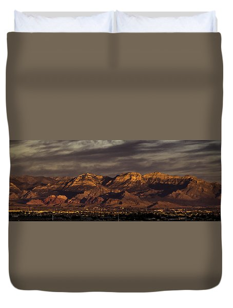 In The Morning Light Duvet Cover