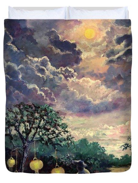 In The Night Garden Duvet Cover
