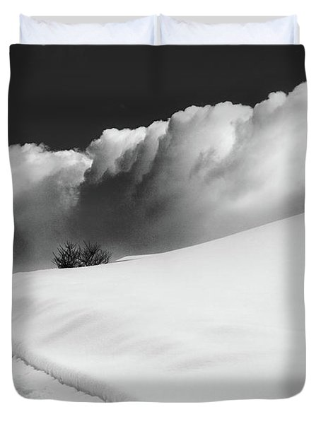 in the Ore Mountains Duvet Cover by Dorit Fuhg