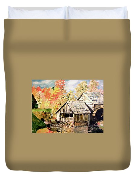 In The Quiet Moments Duvet Cover