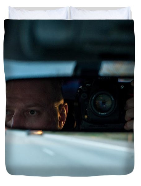 In The Road Duvet Cover